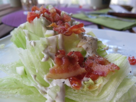 Modified Atkins Diet for Seizures MAD Wedge Salad