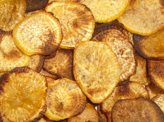 Rutabaga Chips | modifiedmom.com