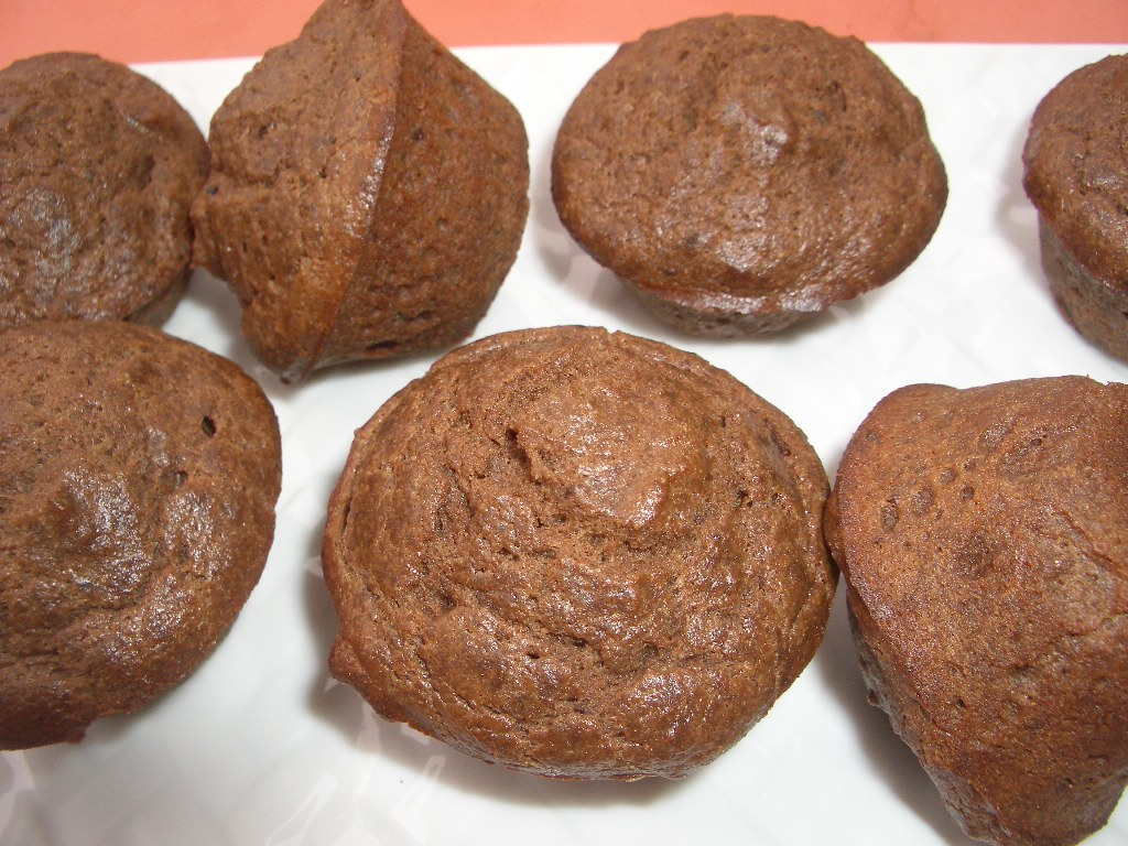 August 16, 2011 Chocolate Coconut Flour Muffins